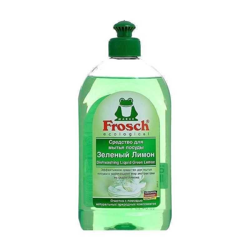 Купить Frosch Средство для мытья посуды Лимон 500мл