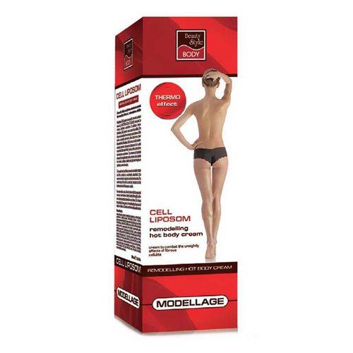 Beauty Style Modellage Крем для тела моделирующий c эффектом разогрева  200мл от Лаборатория Здоровья и Красоты