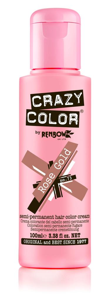 Crazy color краска для волос rose gold /