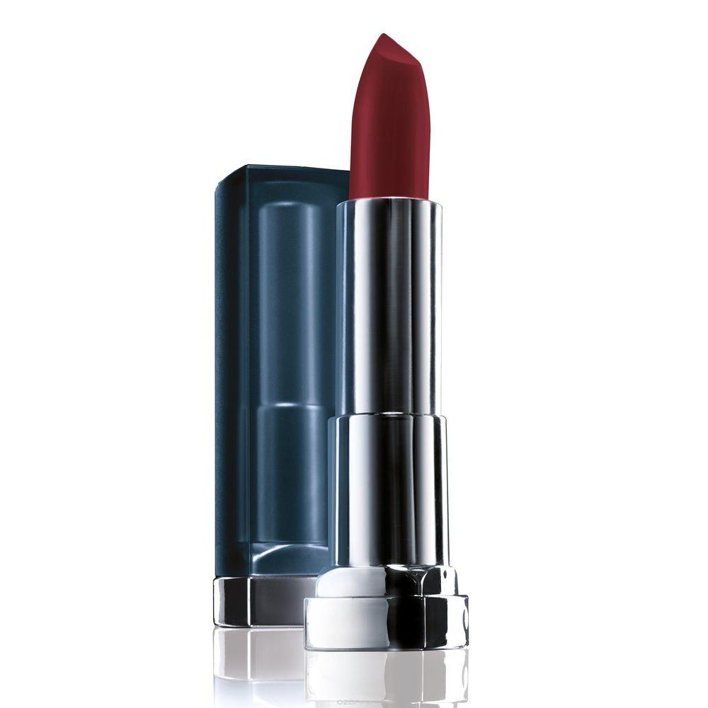 Maybelline Color Sensational губная помада матовый 975 Винная Ягода.