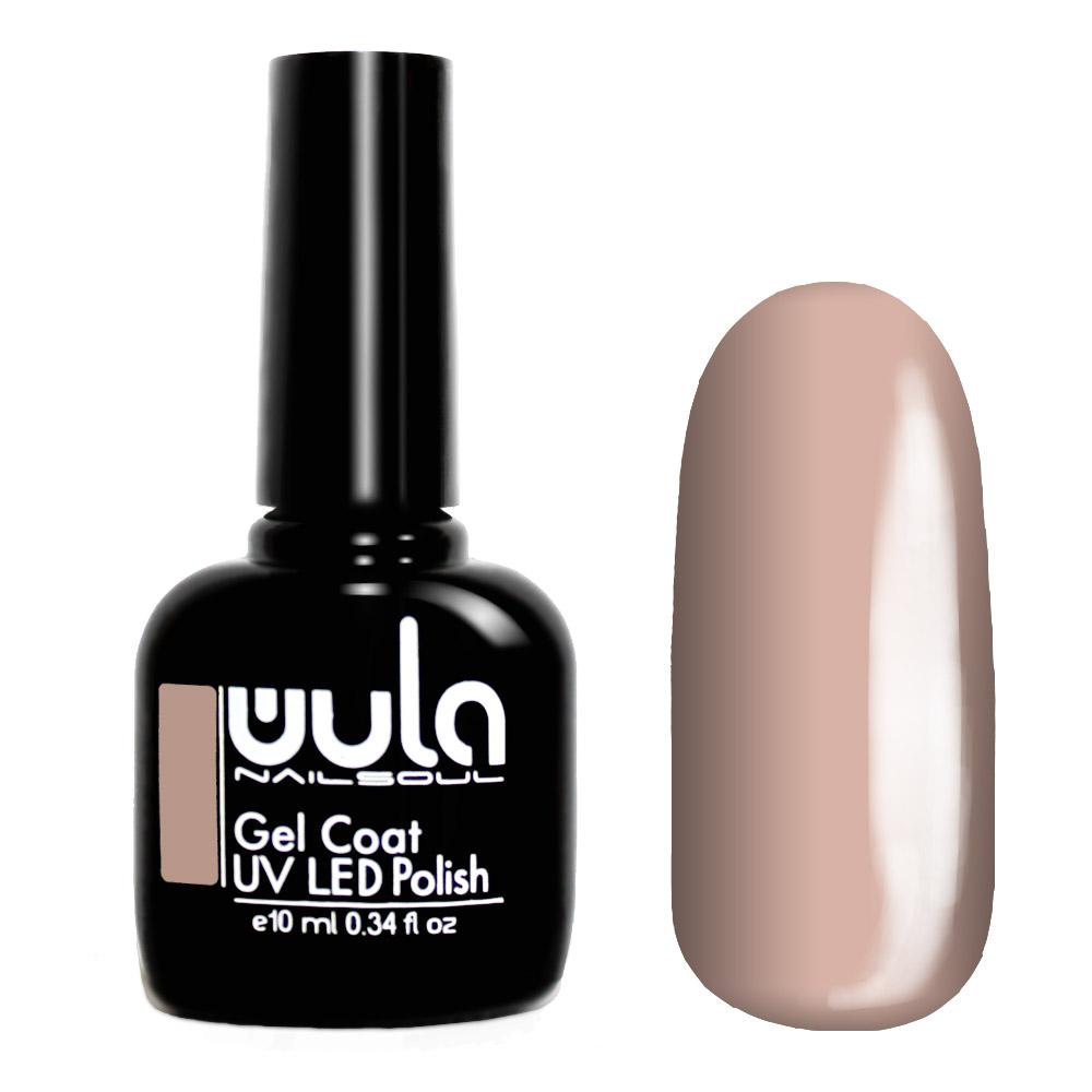 Wula nailsoul гель лак 10мл тон 355 розово-бежевый фото