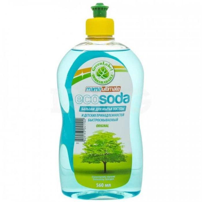 Купить Mama Ultimate EcoSoda Бальзам для мытья посуды 560мл флакон