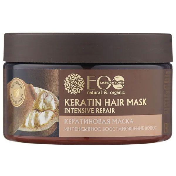 Купить Ecolab Кератиновая маска для волос Интенсивное восстановление 250 мл