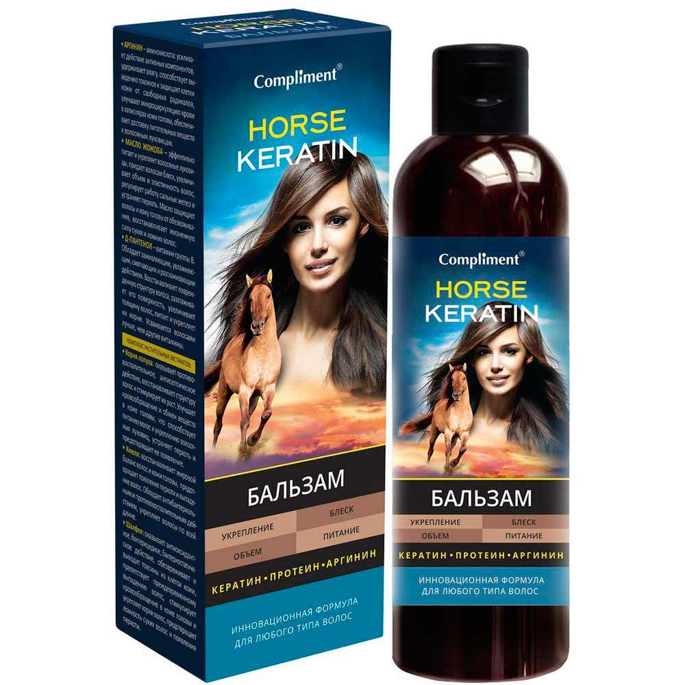 Compliment Horse Keratin Бальзам для волос 250 мл фото