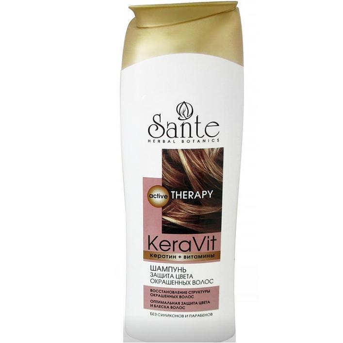 Купить Sante Шампунь защита цвета окрашенных волос 400мл