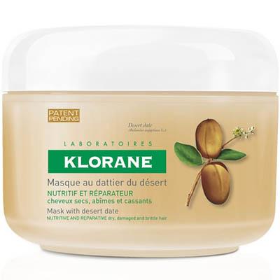 Купить Клоран (Klorane) Питательно-восстанавливающая маска с маслом финика пустынного для поврежденных волос 150 мл