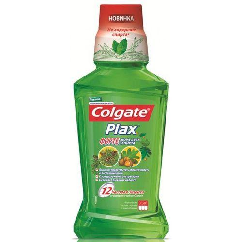 Купить Colgate Ополаскиватель для полости рта Plax Форте Кора дуба и пихта 500мл