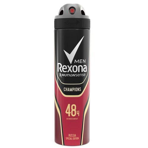 Купить Rexona Антиперспирант аэрозоль мужской Champions 150мл