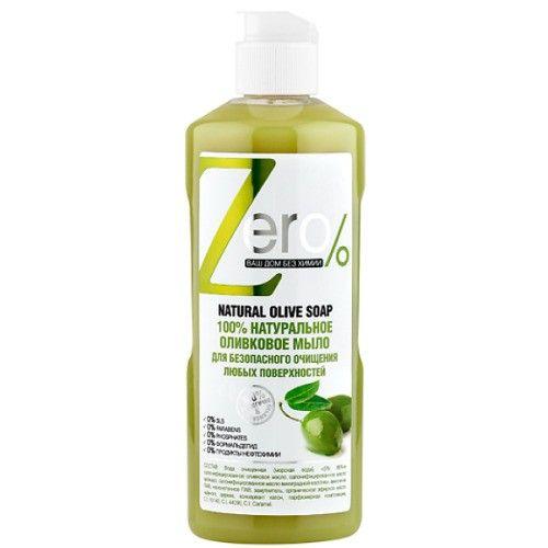 Zero Мыло для очищения оливковое для любых поверхностей 500мл