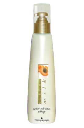 Kleral System (Клерал систем) Молочная антивозрастная маска для волос на основе абрикосового масла 200 мл от Лаборатория Здоровья и Красоты