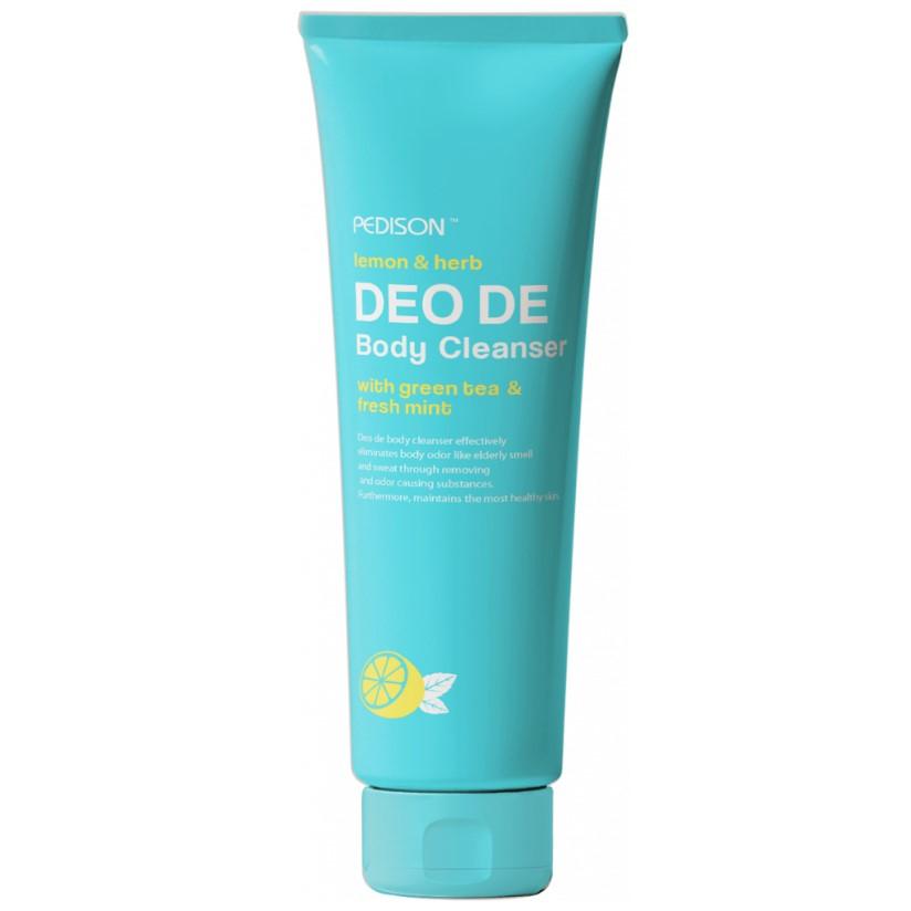 Купить Pedison Гель для душа лимон/мята Deo de Body Cleanser 100мл