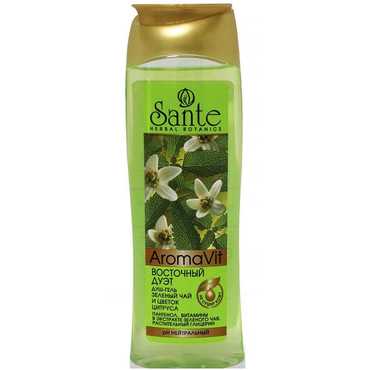 Sante Душ-гель Восточный дуэт Зеленый чай и цветок цитруса 250мл