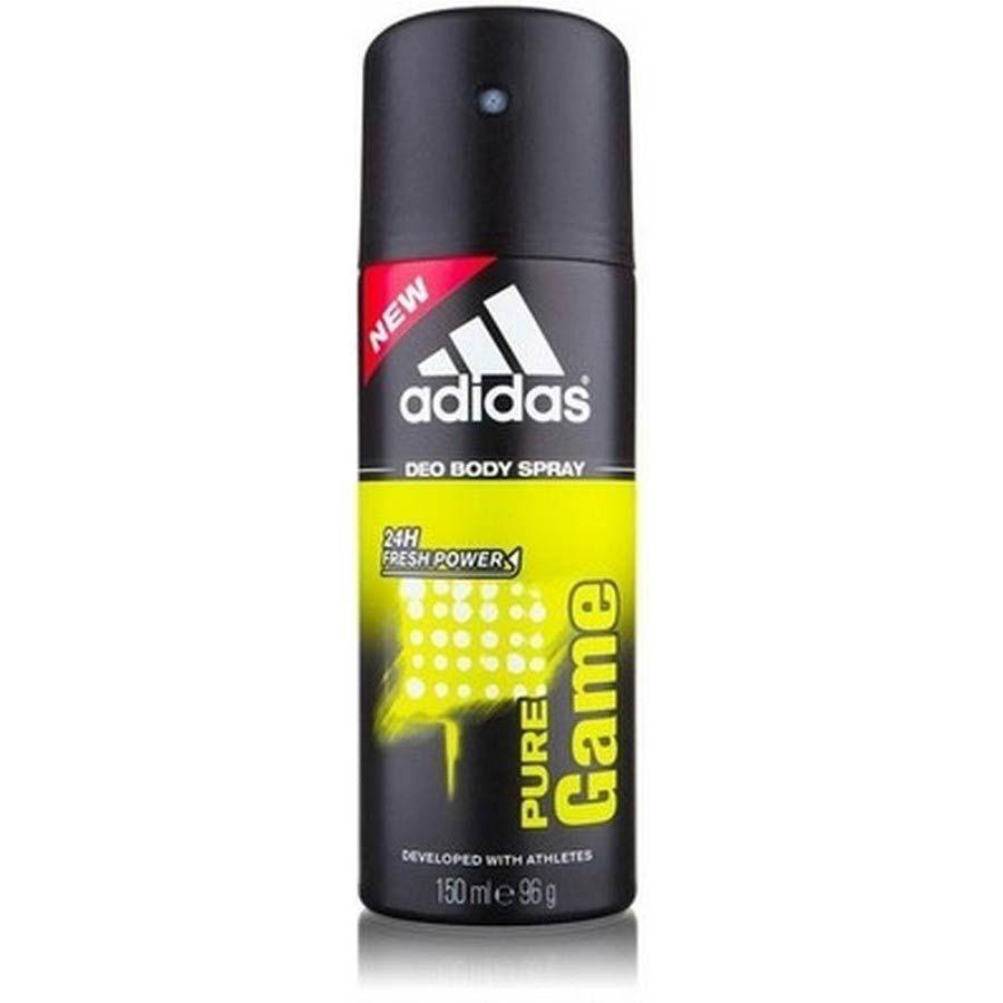 Adidas Pure Game дезодорант-спрей для мужчин 150 мл от Лаборатория Здоровья и Красоты