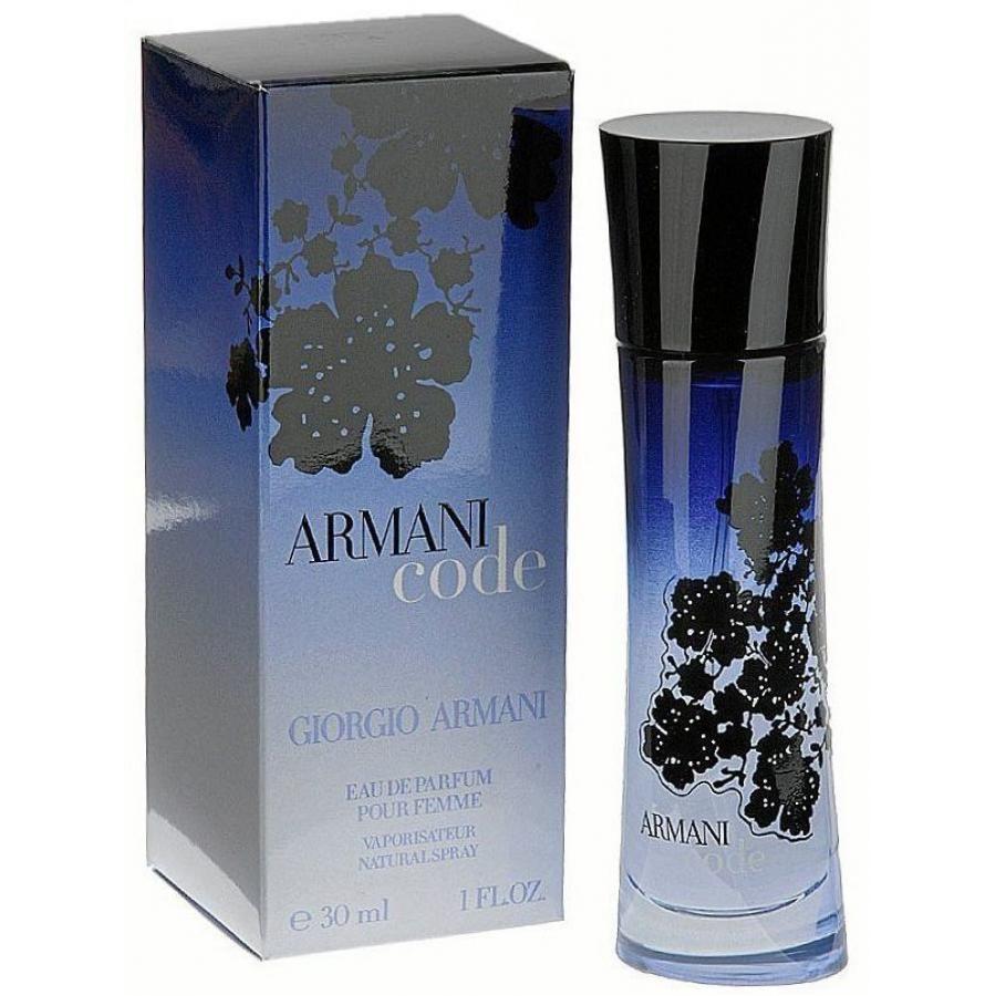 Купить GIORGIO ARMANI CODE парфюмерная вода женская 30мл