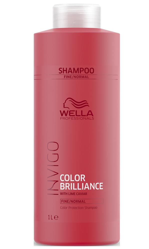 Купить Wella Invigo Color Brilliance Шампунь для окрашенных нормальных и тонких волос 1000мл
