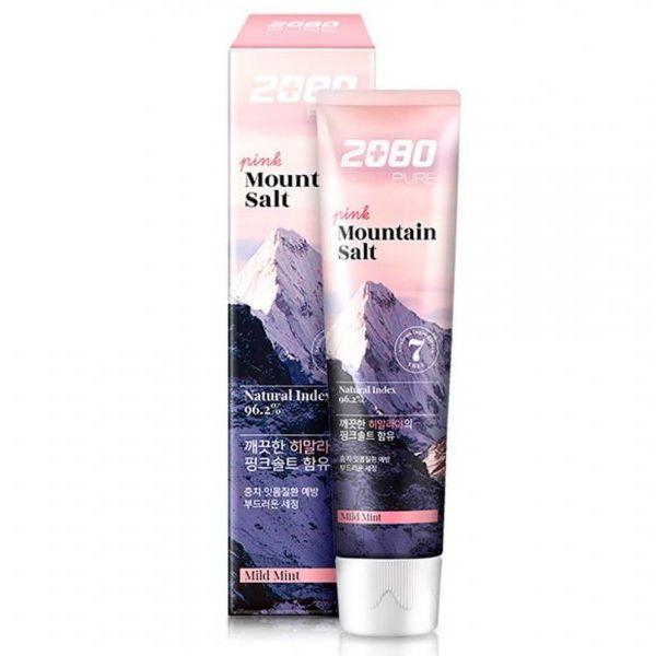 KeraSys Dental Clinic 2080 Зубная паста Гималайская соль розовая 120г