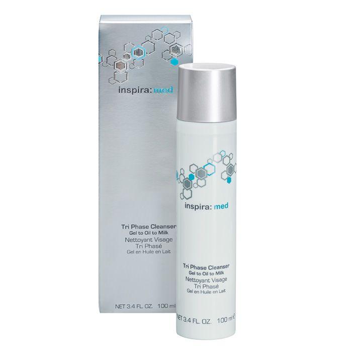 Купить Inspira Tri Phase Cleanser Очищающий гель 3-в-1 100мл, inspira: cosmetics
