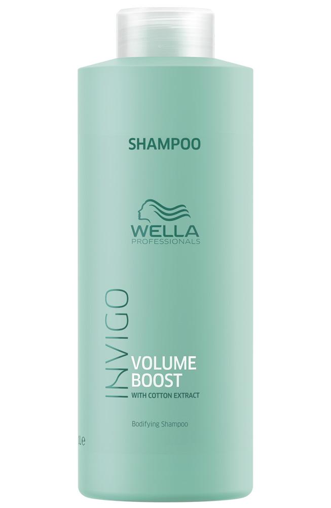 Купить Wella Invigo Volume Boost Шампунь для придания объема 1000мл
