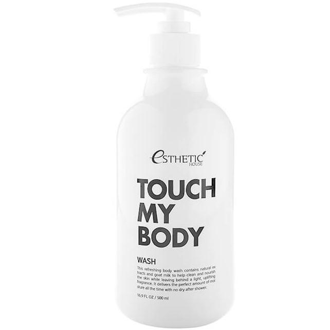 Купить Esthetic House гель для душа с козьим молоком Touch my body goat milk body wash 500мл