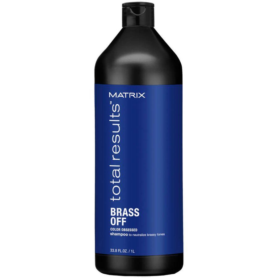 Купить MATRIX Total Results Brass Off Шампунь Холодный блонд 1000мл