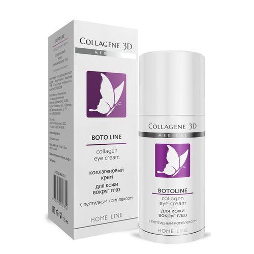 Купить Коллаген 3Д BOTO LINE Крем для кожи вокруг глаз 30 мл, Collagene 3D