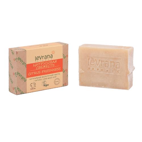 Купить Levrana Натуральное мыло ручной работы Цитрусовая свежесть 100г