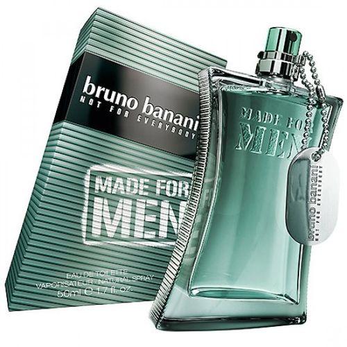 Купить BRUNO BANANI MADE FOR MEN вода туалетная мужская 50 ml