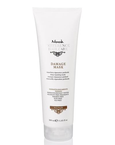 Купить Nook Difference Hair Care Маска для глубокого восстановления нормальных и толстых поврежденных волос Ph 4, 7 300 мл