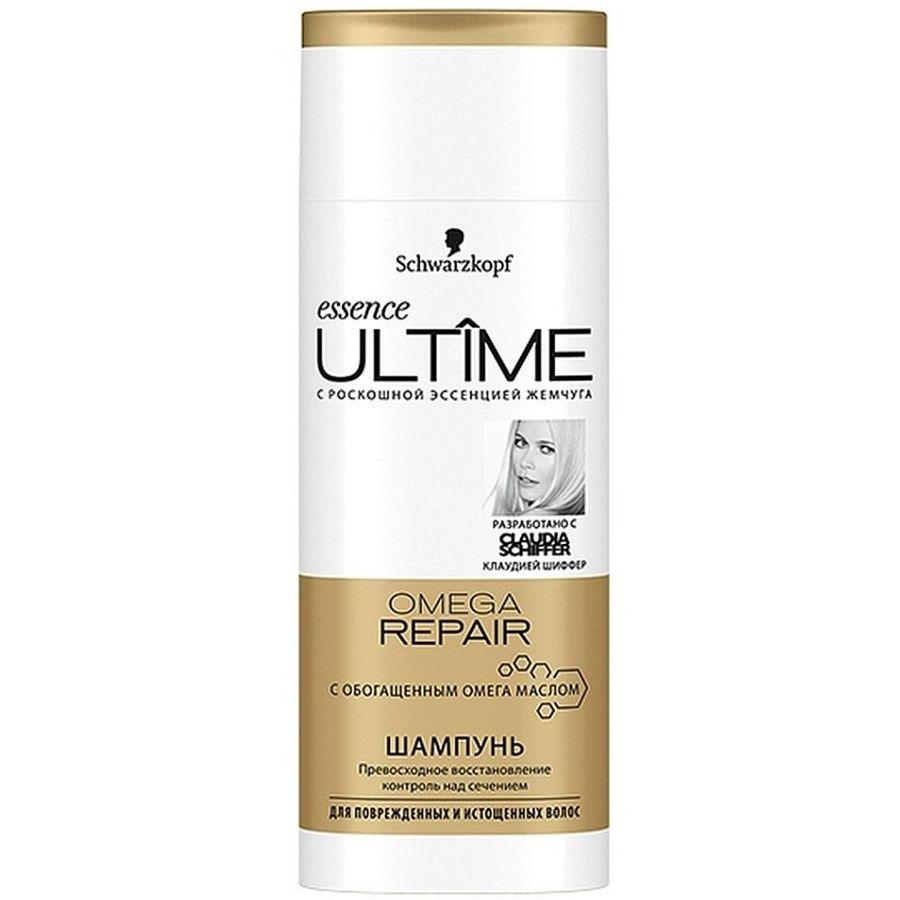 Essence Ultime Шампунь для поврежденных и истощенных волос Omega repair 250мл