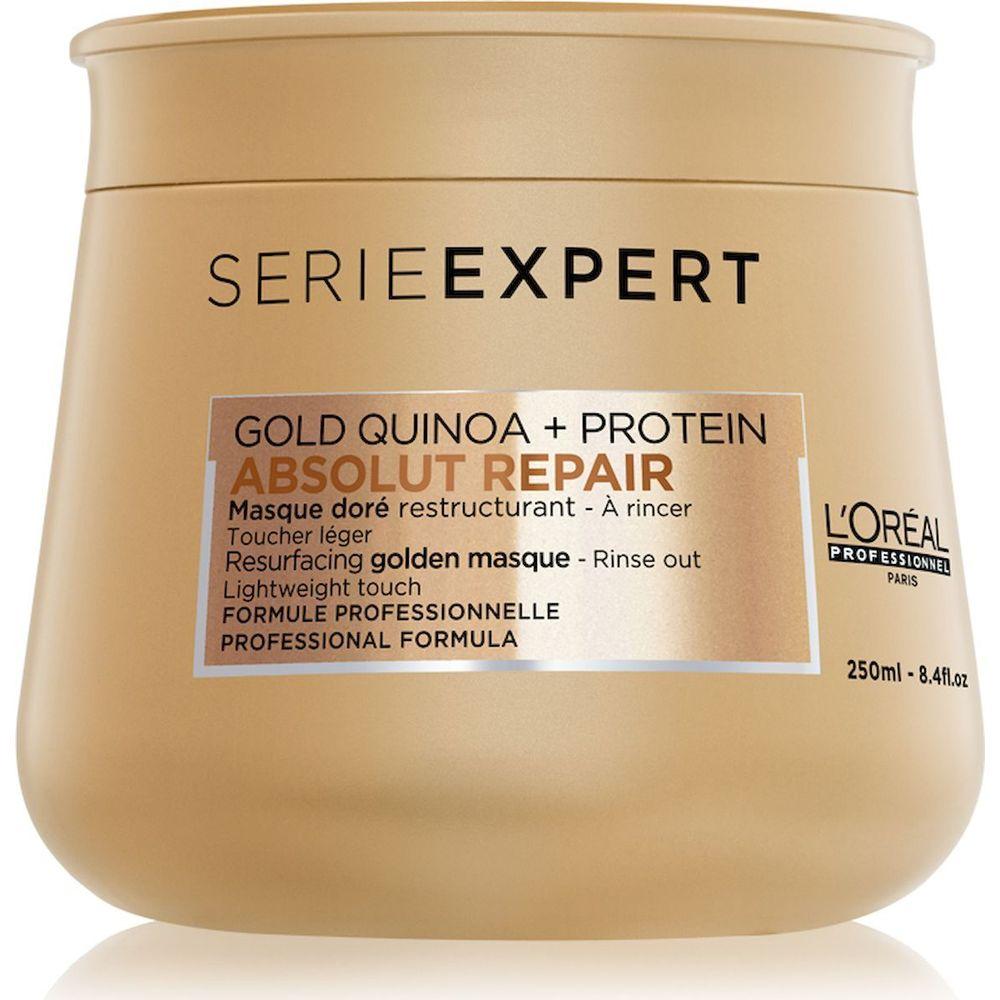 Купить Loreal Absolut Repair Gold Маска для восстановления поврежденных волос 250мл, Loreal Professionnel