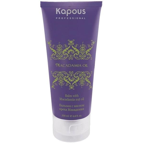 Купить Kapous Professional Macadamia Oil Бальзам с маслом ореха макадамии 200 мл