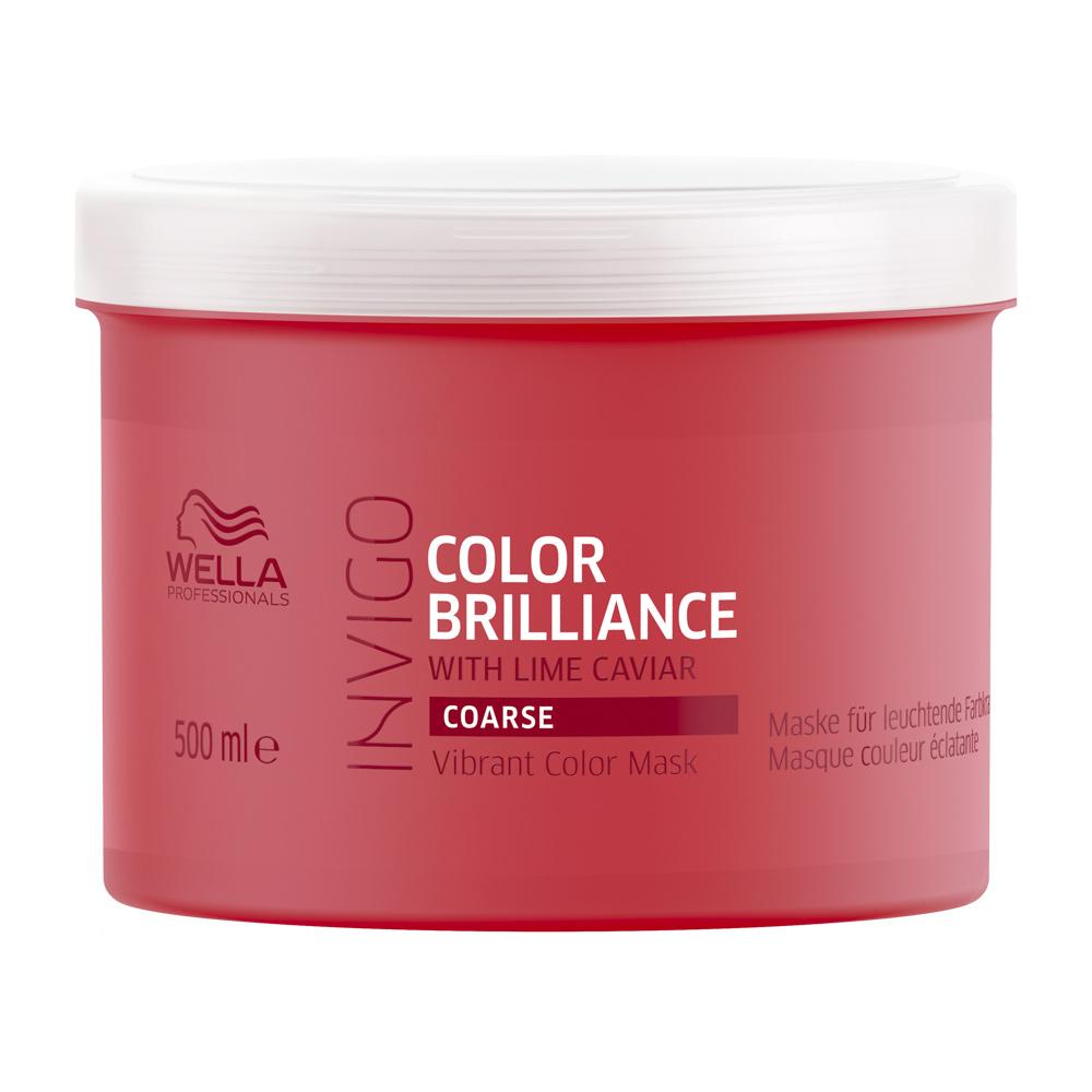Купить Wella Invigo Color Brilliance Маска-уход для защиты цвета окрашенных жестких волос 500мл