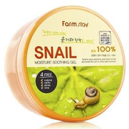 Купить FarmStay Многофункциональный смягчающий гель с экстрактом улитки 300мл, Farm Stay
