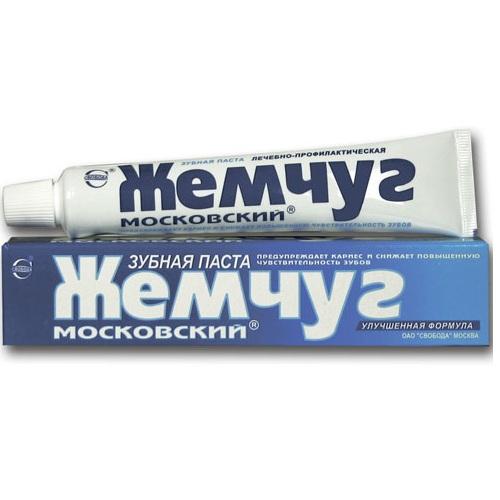 Зубная паста Жемчуг ламинатная туба 65г Свобода
