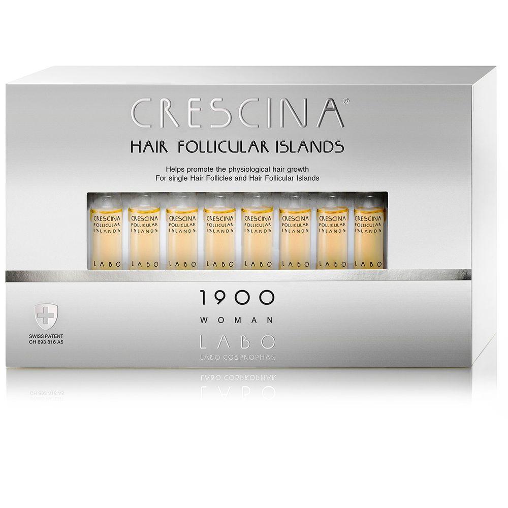 Crescina 1900 для женщин лосьон для предотвращения потери и стимуляции волос  3,5мл №10