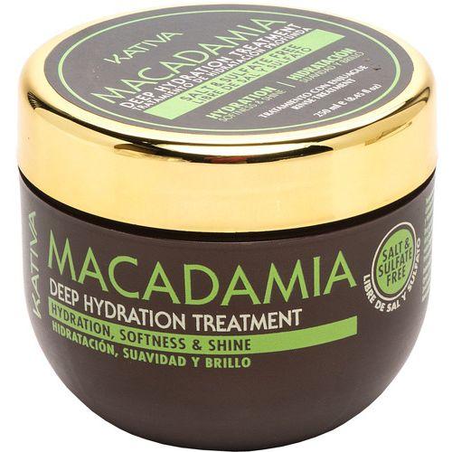 Купить Kativa Macadamia интенсивно увлажняющий уход для волос 250мл