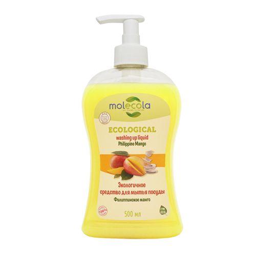 Molecola средство для мытья посуды Филиппинское манго 500мл.