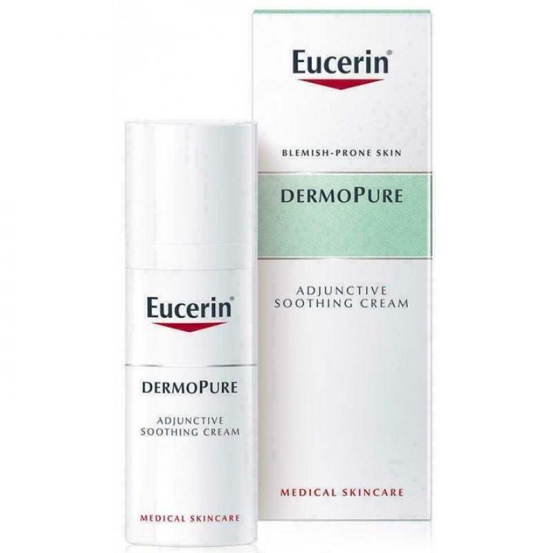 Eucerin Dermopure Крем увлажняющий успокаивающий для проблемной кожи 50мл