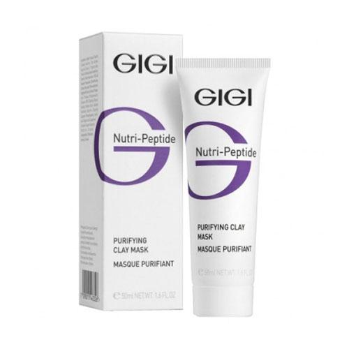 Gigi nutri-peptide пептидная очищающая глиняная маска для жирной кожи 50 мл