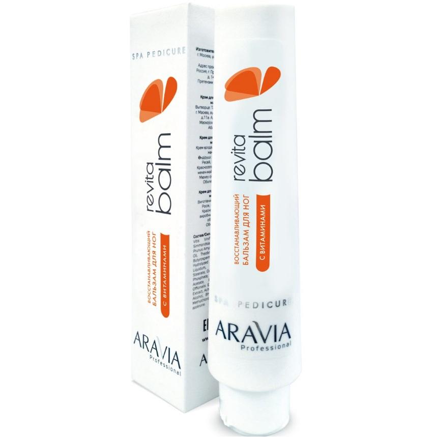 Купить Aravia Восстанавливающий бальзам для ног с витаминами Revita Balm 100мл, Aravia Professional