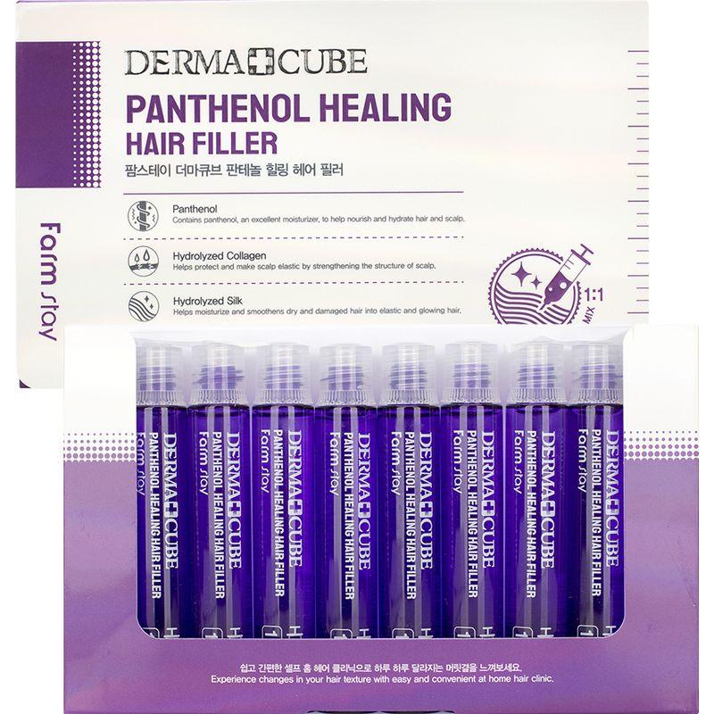 Купить FarmStay Питательный филлер для волос с пантенолом 10 ампул по 13мл, Farm Stay