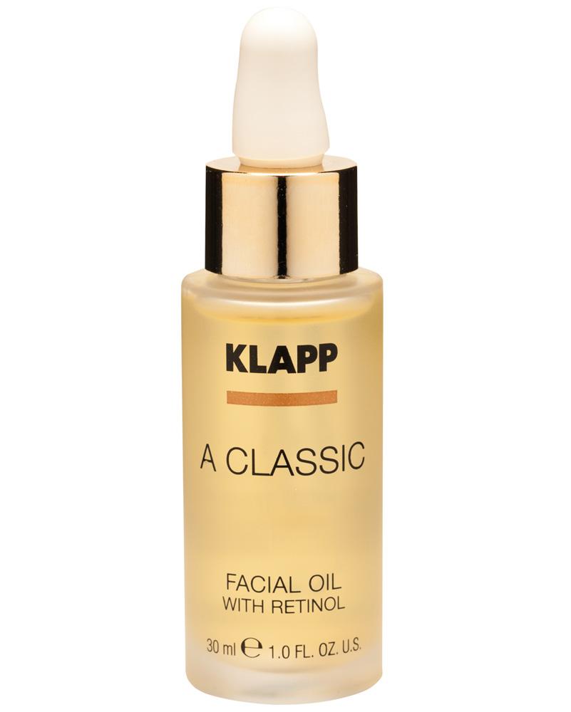 Klapp A classic Масло для лица с ретинолом, 30 мл