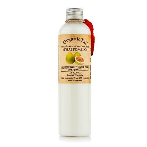 Купить OrganicTai Натуральный бальзам-кондиционер Тайский Помело от перхоти для жирных волос 260мл