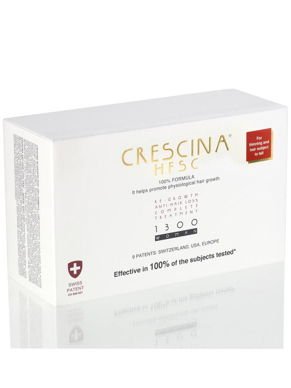 Купить Crescina Комплекс 1300 для женщин Лосьон для стимуляции роста волос №20 + Лосьон против выпадения волос №20 3, 5 мл