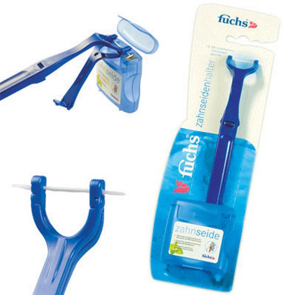 Fuchs Floss holder with Floss держатель для зубной нити и зубная нить 50 м фото