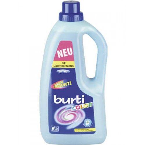Burti Жидкое средство для стирки цветного белья Burti Color Liquid 1.5 л от Лаборатория Здоровья и Красоты