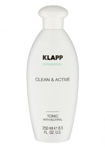 Купить Klapp Clean & active Тоник со спиртом, 250 мл