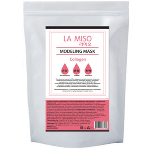 La miso маска моделирующая альгинатная с коллагеном 1000г