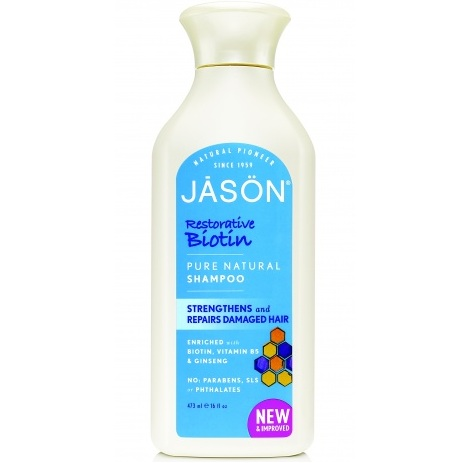 Купить Jason Шампунь для волос Биотин Biotin Shampoo 473 мл