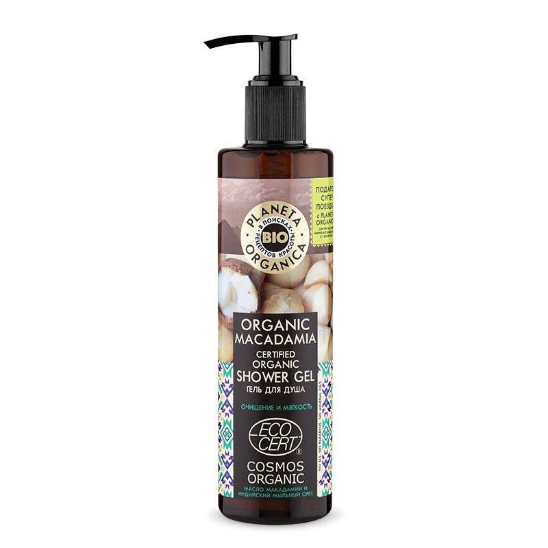 Купить Планета органика Organic Macadamia гель для душа органический 280 мл, Planeta Organica